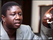 File pic of Ousmane Conte