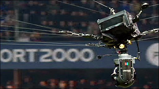 The television overhead camera