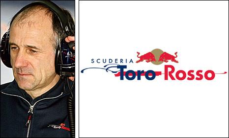 Toro Rosso team boss Franz Tost