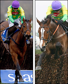 Denman (left) and Kauto Star