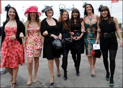 Best Dressed Lady contenders at Cheltenham