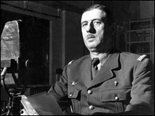 General Charles De Gaulle broadcasting on October 30th, 1941