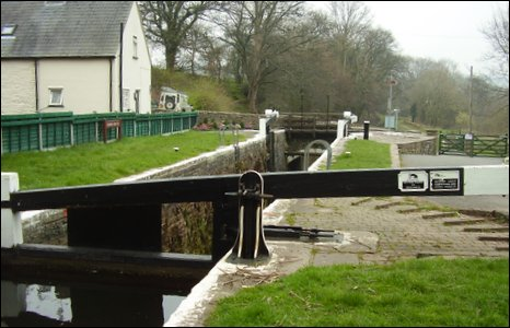 Lock on the Monmouthshire and