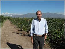Herve Joyaux Fabre, President of Fabre Montmayou Winery, Mendoza