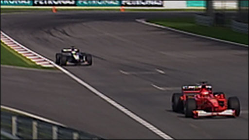 Michael Schumacher wins the 2000 Malaysian Grand Prix
