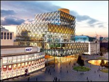 Designs for Birmingham library