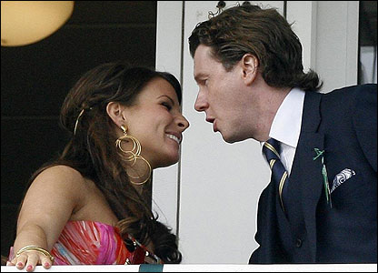 Coleen Rooney and Steve McManaman