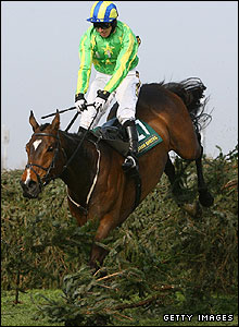 Irish Raptor and Paddy Brennan
