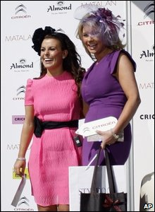 Coleen Rooney with the winner of Style 2009 Samantha Marsh