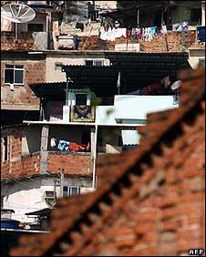 Morro da Providencia favela in Rio de Janeiro