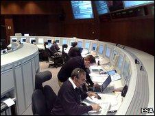 Esoc control room (Esa)