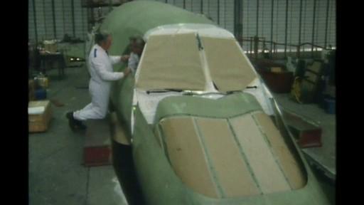 Concorde 216 in the Filton hanger