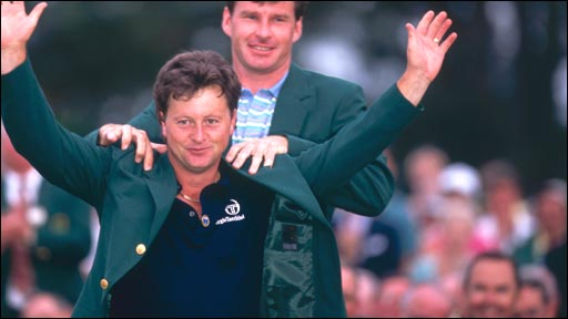 Ian Woosnam in 1991