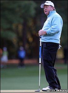 Ian Woosnam at Augusta
