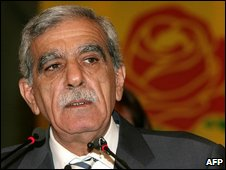 DTP chairman Ahmet Turk