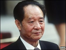 Hu Yaobang, archive image from 1986
