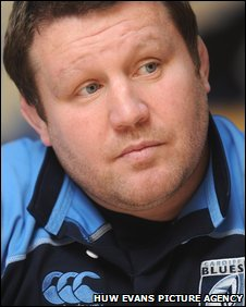 Blues director of rugby Dai Young