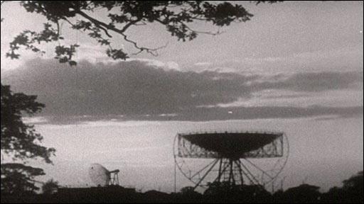 Archive image of Lovell telescope