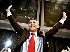 Labour Party leader Jens Stoltenberg (file)