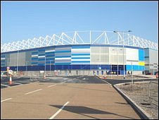 The new Cardiff City stadium