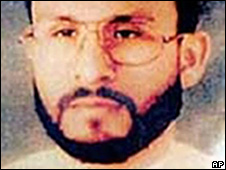 Undated photo showing al-Qaeda suspect Abu Zubaydah