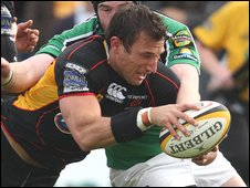 Dragons number eight Joe Bearman capped a fine game with a try
