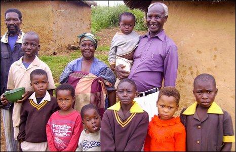 Sipho Mamba and pupils