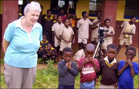 Roz Harrison of Rosimedre school
