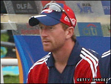 England's Paul Collingwood has not played competitive cricket for a month