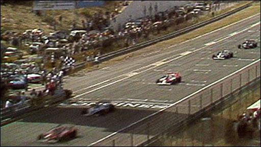 Gilles Villeneuve wins the 1981 Spanish Grand Prix