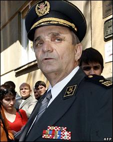Branimir Glavas in uniform (2007)