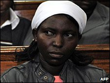 Serah Njoya, the widow of Robert Njoya (Photo: Simon Maina/AFP/Getty Images)