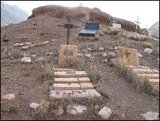 Cemetery at Aconcagua