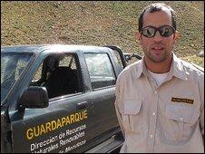 Chief Park Keeper Daniel Cucciara