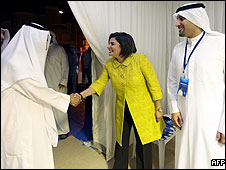 Dr. Aseel Al-Awadhii, a candidate in Kuwait's16 May parliamentary elections