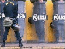 Peruvian police (file image)