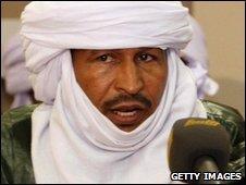 Leader of the Niger Patriotic Front (FPN), Aklu Sidisidi