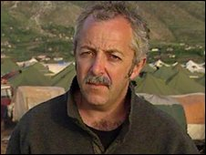 Jeremy Bowen reporting from Kosovo, 1992
