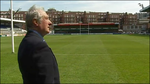 Gareth Edwards at Cardiff Arms Park