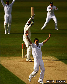 James Anderson strikes