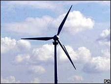 Wind turbine (generic image)