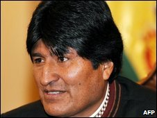President Evo Morales (file photo)