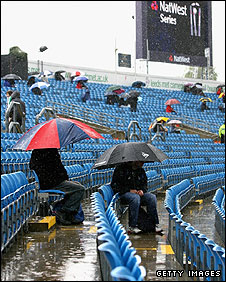 The conditions for spectators were miserable at Headingley