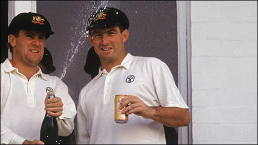 Mark Taylor and Geoff Marsh