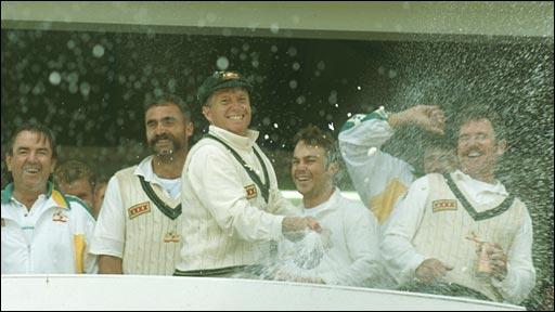 Australia celebrate a series win