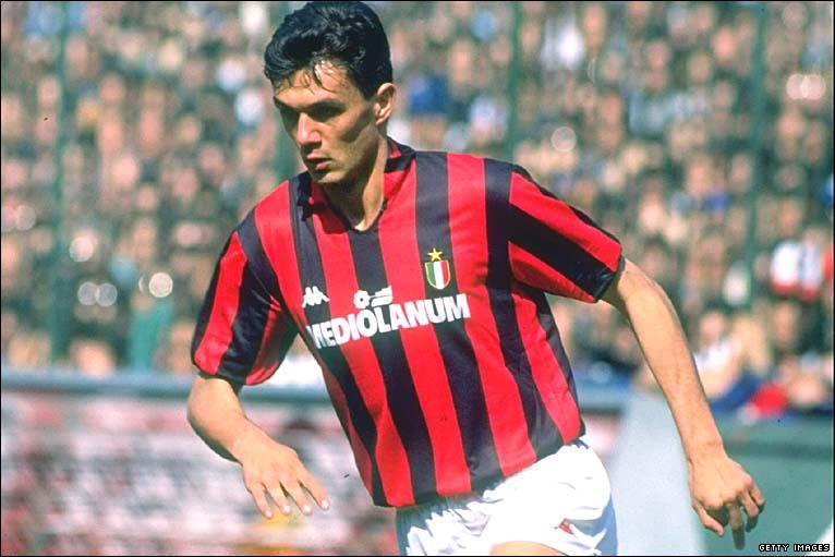 Sự nghiệp của Paolo Maldini qua ảnh