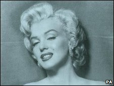 "Marilyn Monroe, one of the world's most famous ""blondes"""