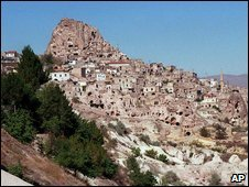 Turkish region of Cappadocia