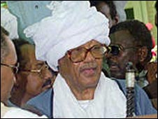 Former Sudanese President Jaafar Nimeiri. Photo: 1999