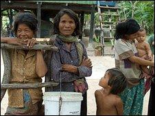 Villagers in Lvea